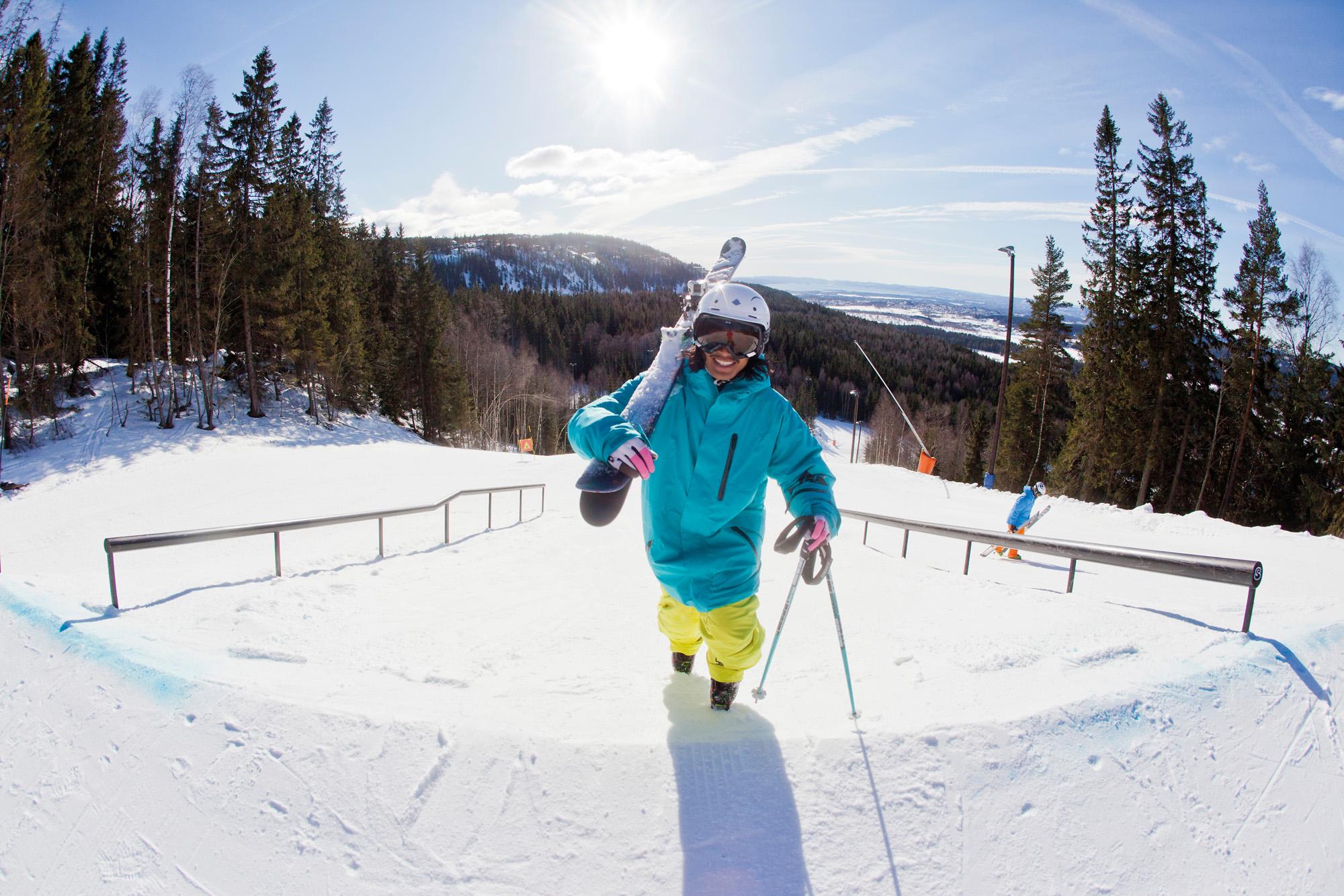 I dag åpner Oslo Vinterpark Bogstadveien
