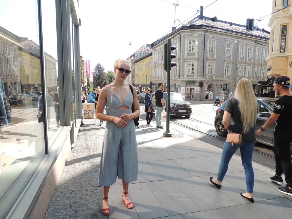 e64d9a6d Hilde Jumpsuit fra New York // H&M-sko // Prada-sekk