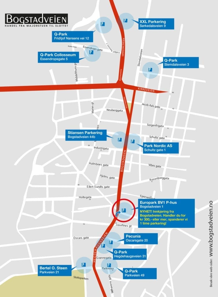 Bogstadveien Kart