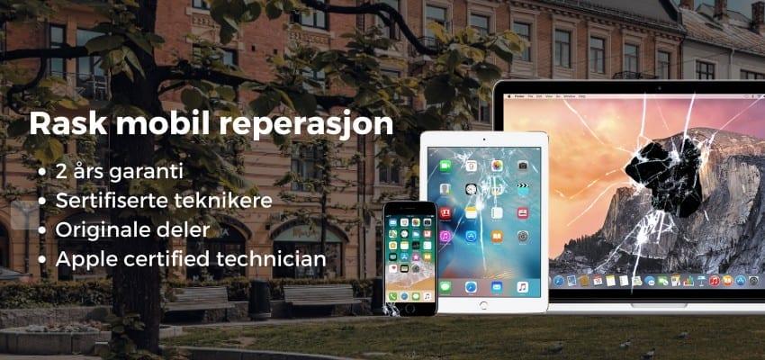 iphone reparasjon majorstua