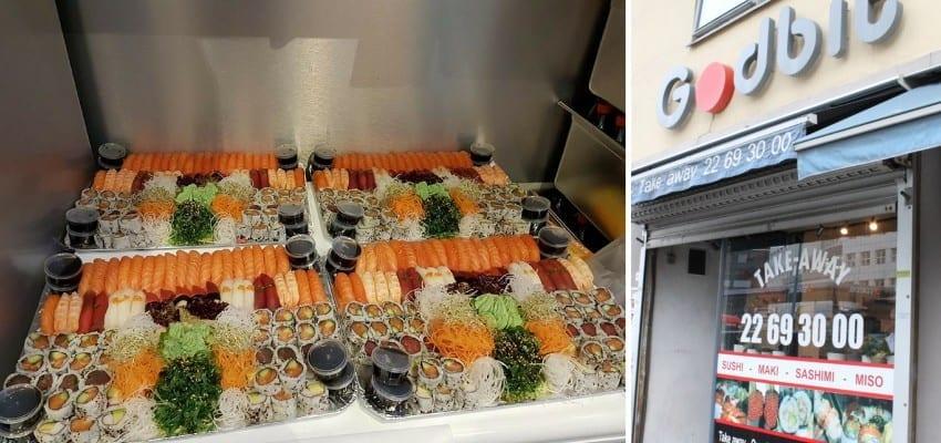 Sushi Godbit Majorstuen